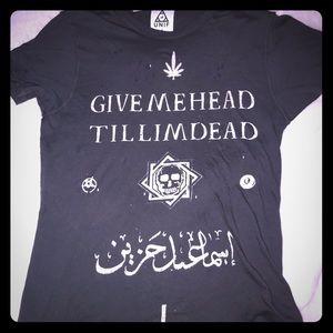 Rare! Give Me Head Til I'm Dead Tee Unisex